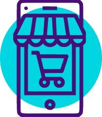 Ícone e-commerce